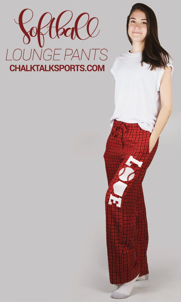 ChalkTalkSPORTS Softball Lounge Pants #Softball