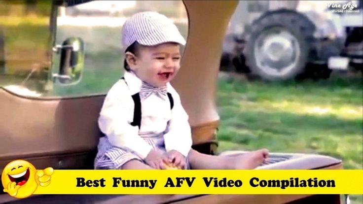 FUNNY VIDEOS  Best Funny AFV Video Compilation  New Funny Videos 2017  Vine Age