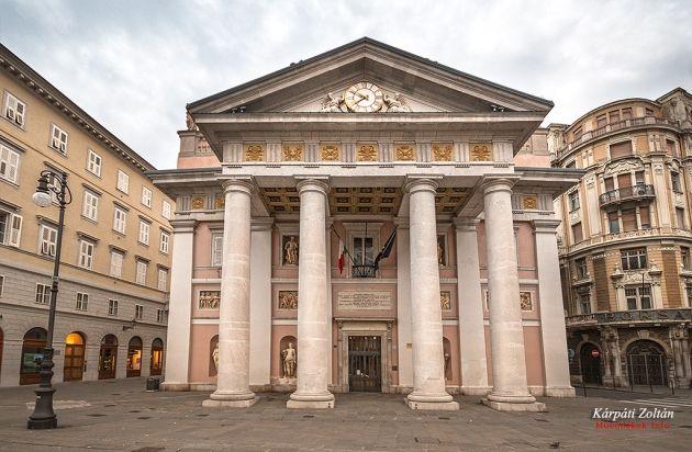 Régi Tőzsde palota Triesztben