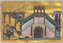 James-- can also be Anglicized as Jacob), who died in martyrdom in 62 or 69 AD, was an important figure of the Apostolic Age. Other epithets used to refer to James include James the Just, or a variation of James, brother of the Lord. Roman Catholic tradition generally holds that this James is to be identified with James, son of Alphaeus, and James the Less. It is agreed by most that he should not be confused with James, son of Zebedee.