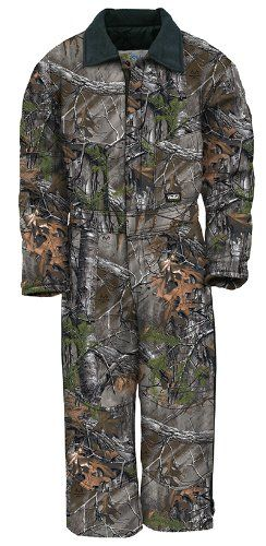 Walls Legend Boys Youth Grow with Me Insulated Coveralls XL Realtree Xtra