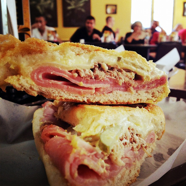 You can't come to Ybor and NOT have one of our famous Cuban sandwiches!