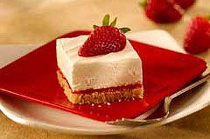 Strawberry Cheesecake Squares Recipe - Kraft Recipes
