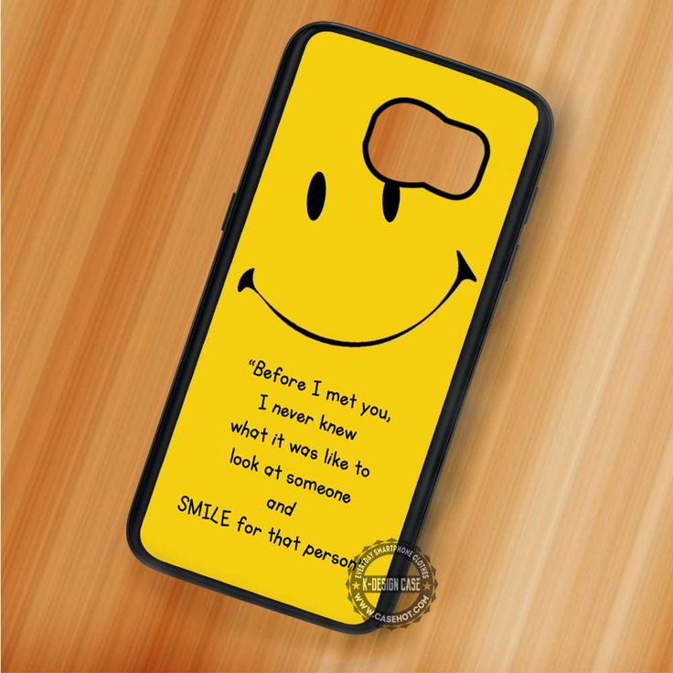Smiley Quote Emoticon - Samsung Galaxy S7 S6 S5 Note 7 Cases & Covers