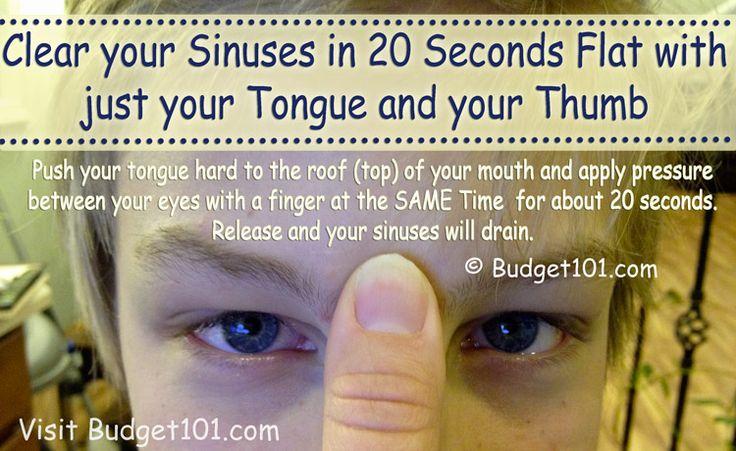 Sinus Pressure Relief