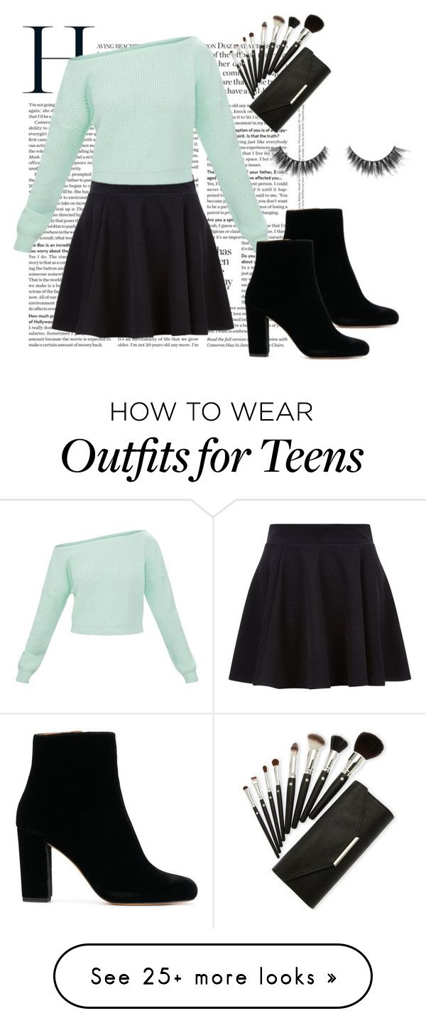 """""""Black & Blue"""" by camrythornton on Polyvore featuring IRO"""