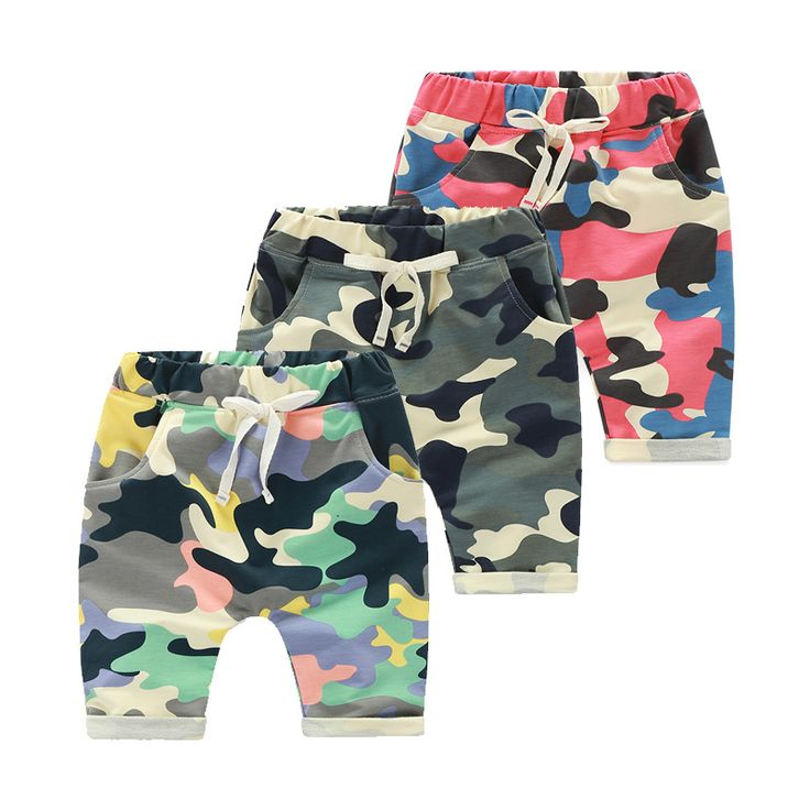 >> Click to Buy <<  2016  Baby Summer Male Female Children'S Clothing Child Boy Camouflage Capris Harem Pants #Affiliate