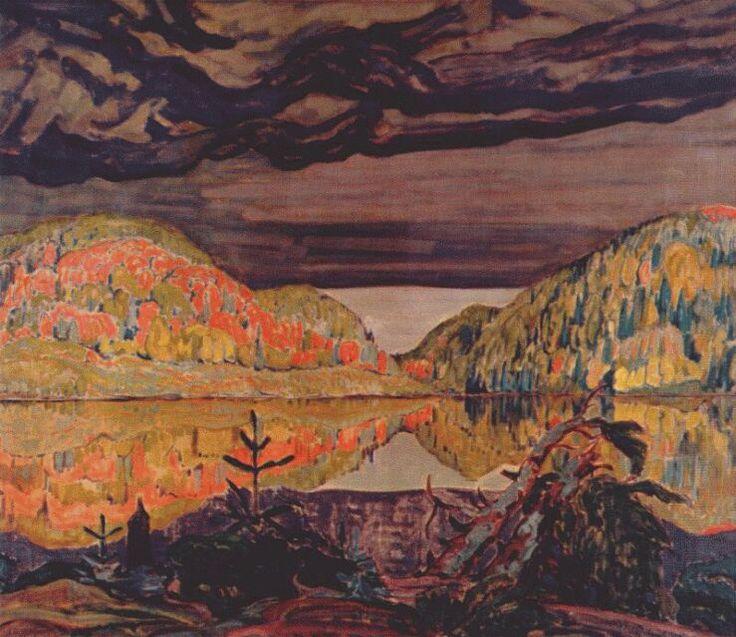 JEH-MacDonald-October-Shower-Gleam-1922.