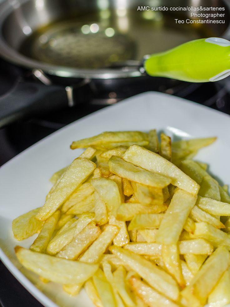 AMC surtido cocina/ollas&sartenes: Patatas fritas AMC