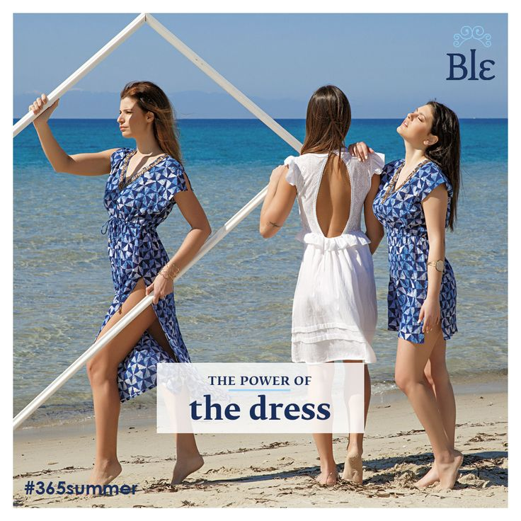 One, two, three, go… shopping! No matter how many dresses you own, you always need a few more, especially when they combine a casual chic essence you can wear all day, every day! Go blue or white here www.ble-shop.com