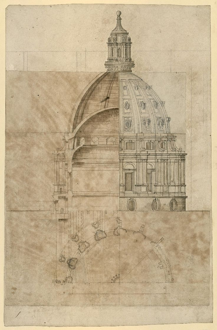 Christopher Wren St Paul's London drawings - Google Search
