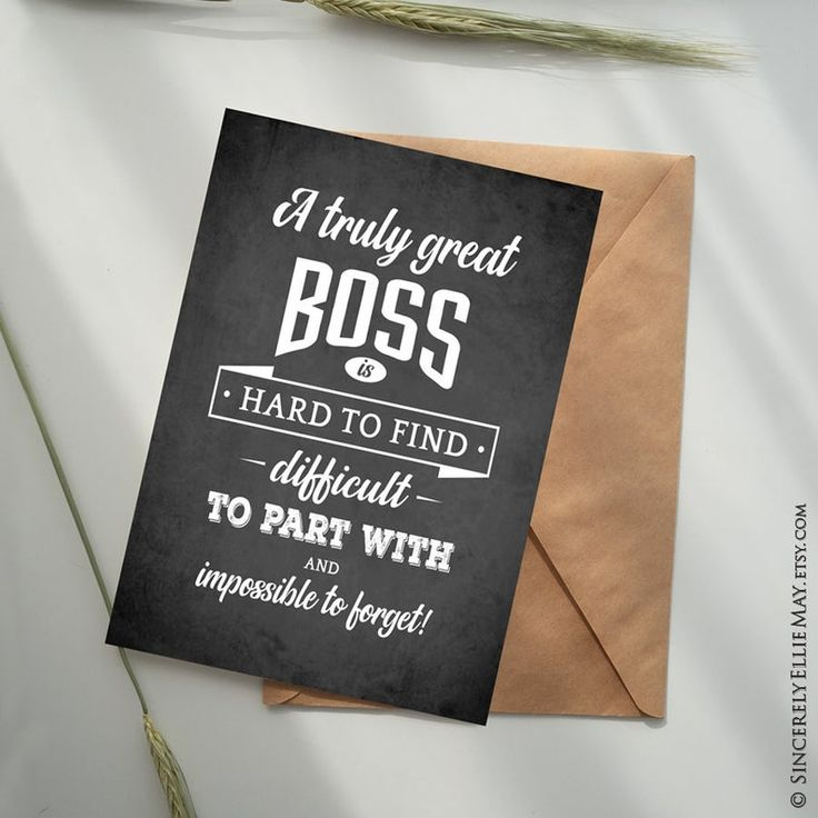 male boss gifts quotes  great boss appreciation
