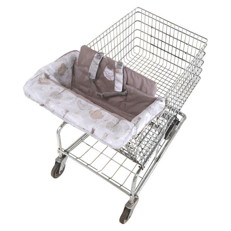 Eddie Bauer Shopping Cart & High Chair Cover - Tree Print,