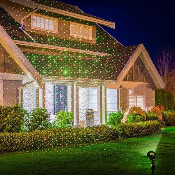 Christmas Light Laser Projector Humble Household Outdoor Projector Landscape Spotlights Outdoor Christmas Lights