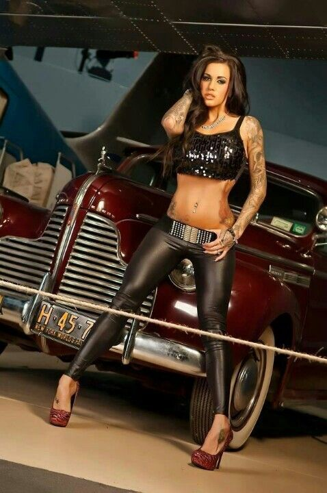 Hot Rod Babe Love This Photo And That Outfit