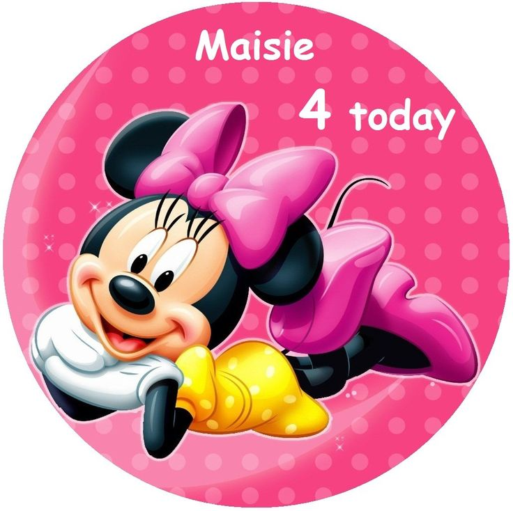 Minnie Mouse Cakes Toppers | Cake Photo Ideas