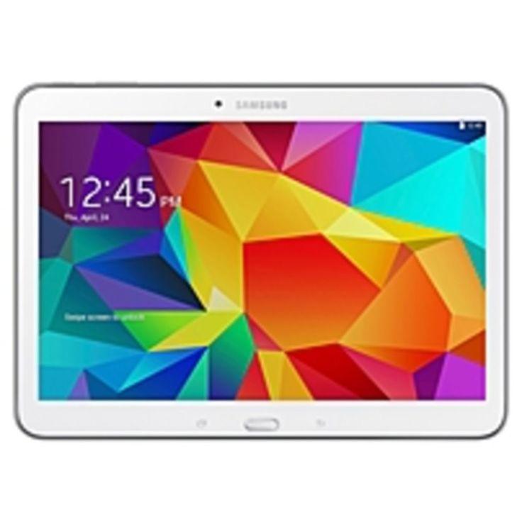 Samsung Galaxy Tab 4 SM-T530 16 GB Tablet - 10.1 - Wireless LAN - Quad-core (4 Core) 1.20 GHz - White - 1.50 GB RAM - Android 4.4 KitKat - Slate - 1280 x 800 16:10 Display - Bluetooth - GPS - 1 x Total USB Ports - Front Camera/Webcam - 3 Megapixel Rear C