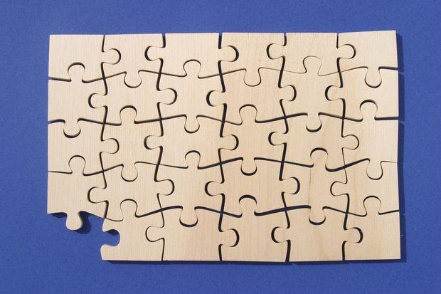 Como fazer um quebra-cabeça no Microsoft Word, PowerPoint ou Publisher