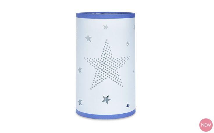 Stars Cylinder Table Lamp at Laura Ashley