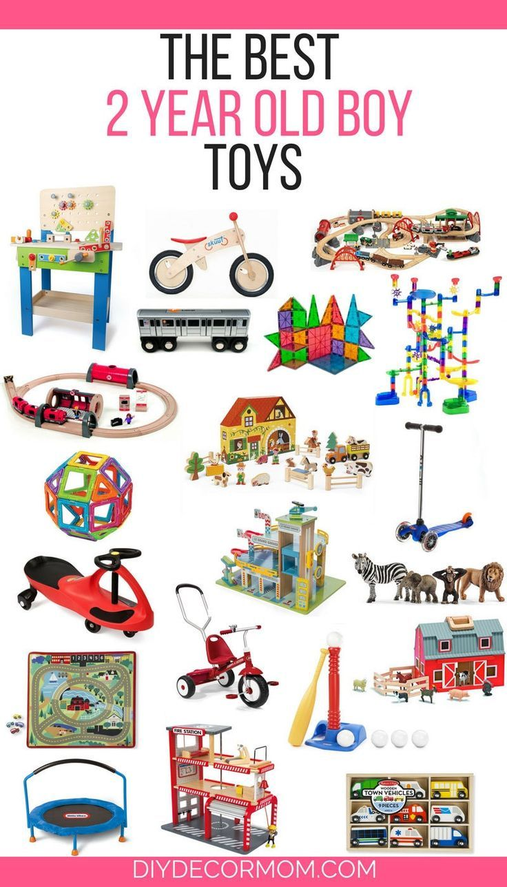 Best Toys for 2 Year Old Boys Parents AND Kids Will LOVE ...