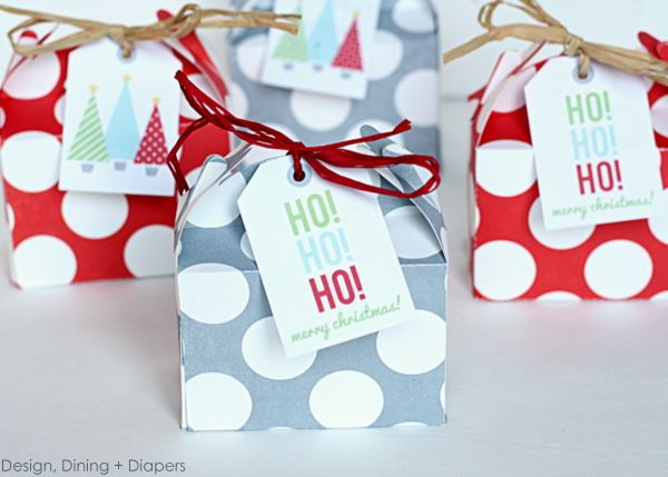 $1.00 Christmas Favors by Design, Dining + Diapers