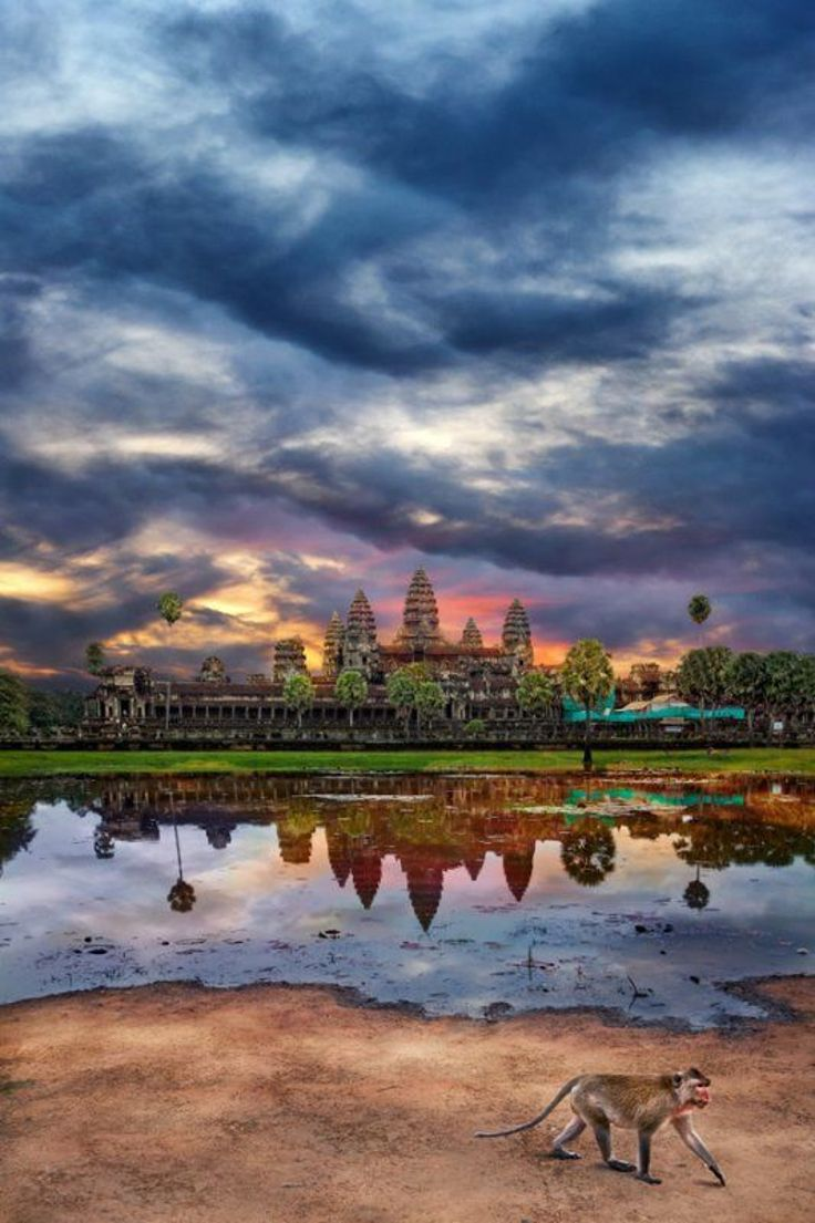 Angkor Wat Angkor is one of the most important archaeological sites in South-East Asia and contains the magnificent remains of the different capitals of the Khmer Empire, from the 9th to the 15th century.