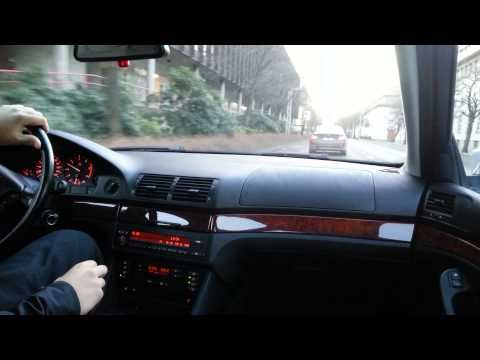 Amazing BMW E39 520D driving - Tuning Hero