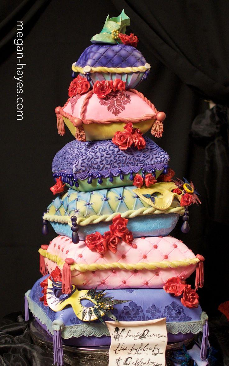 Best Pillow Cakes Ideas On Pinterest Pastel Pillow Wedding