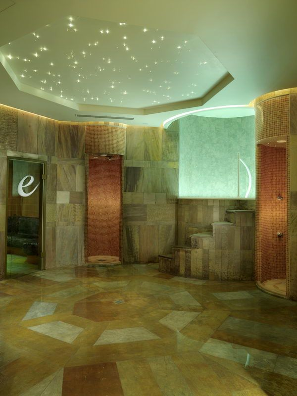 Spa special applications with natural stones