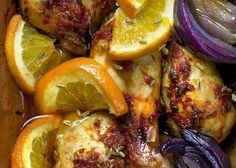Kyckling i lergryta med apelsin och oliver | MåBra - Nyttiga recept