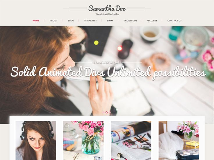 Top 40 Free & Premium Feminine Wordpress Themes 2016