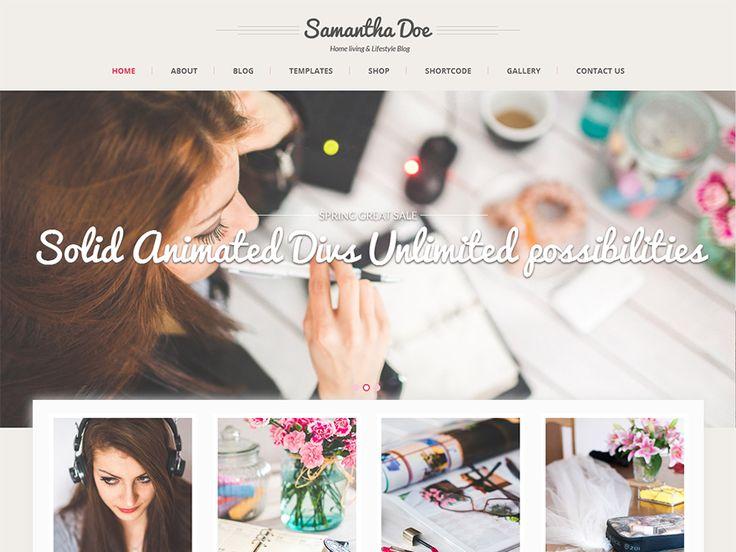 WordPress › SKT Girlie Lite « Gratis WordPress Thema's