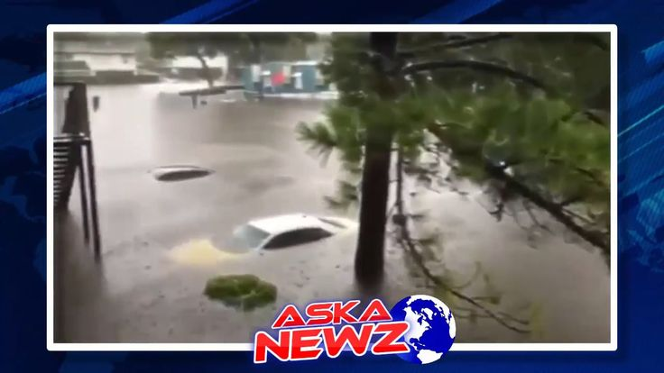 Houston WATER FLOOD Compilation 2017