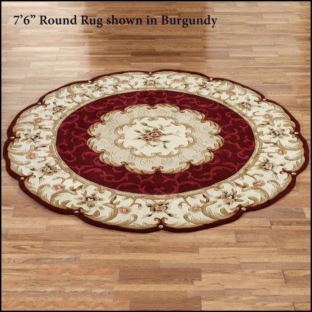Small Round Accent Rugs