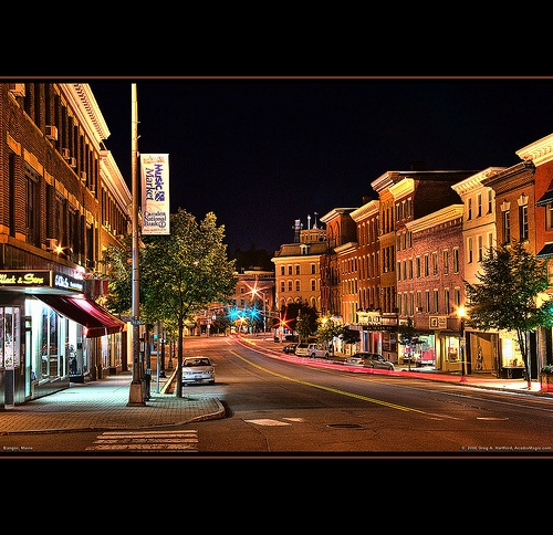 """Bangor, Maine - this is """"downtown"""""""