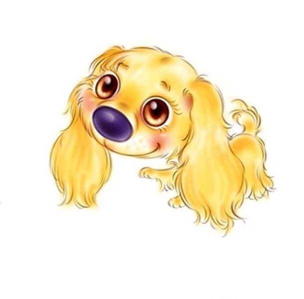Картинки с собачками смешные нарисованные