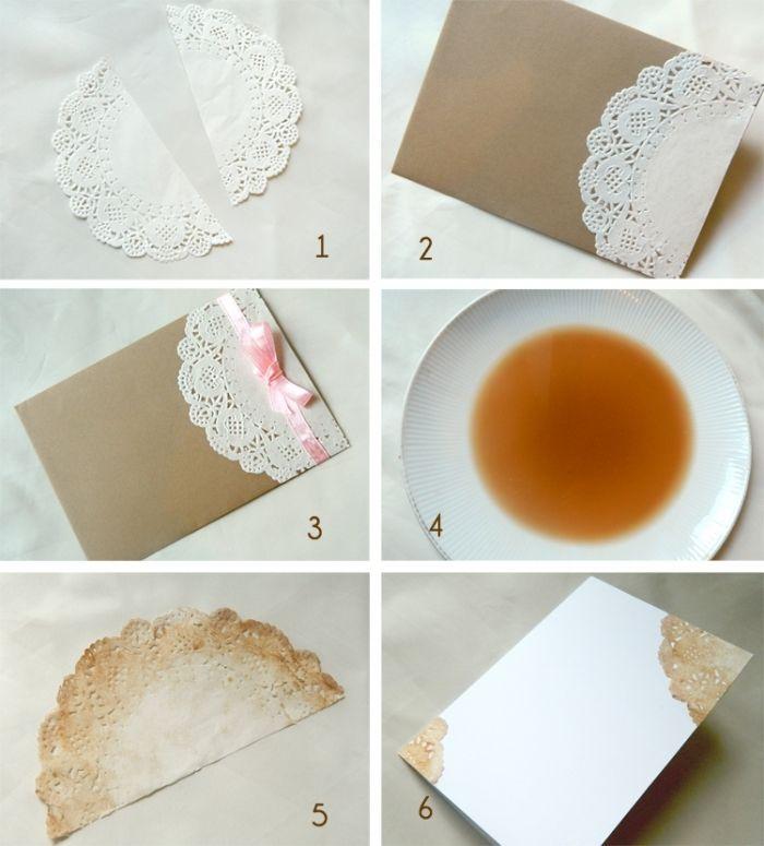 Cómo hacer invitaciones de boda vintage - bodas.com.mx