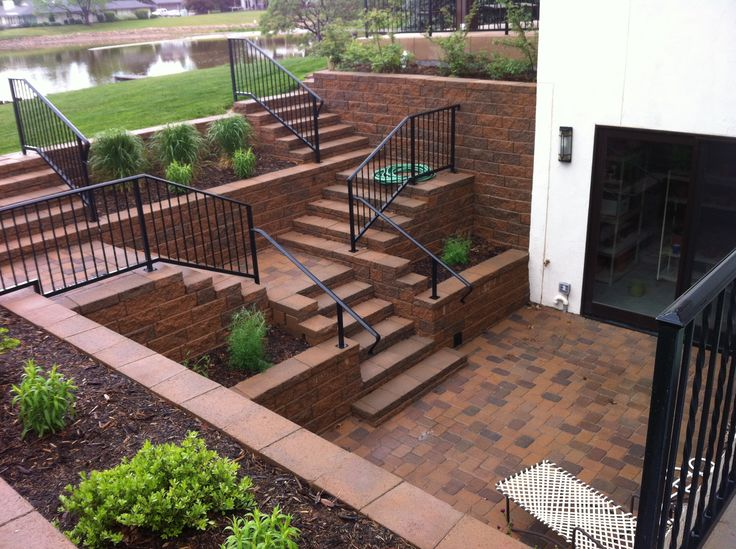 17 best images about walkout basement on pinterest Walkout basement landscaping pictures