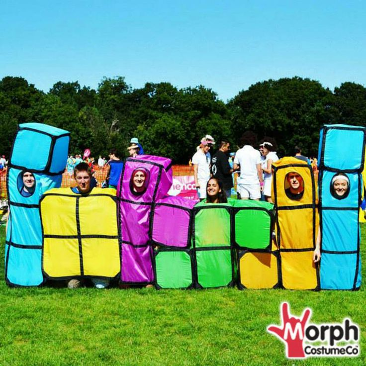 funny tetris group halloween fancy dress costume - Funniest Halloween Pictures