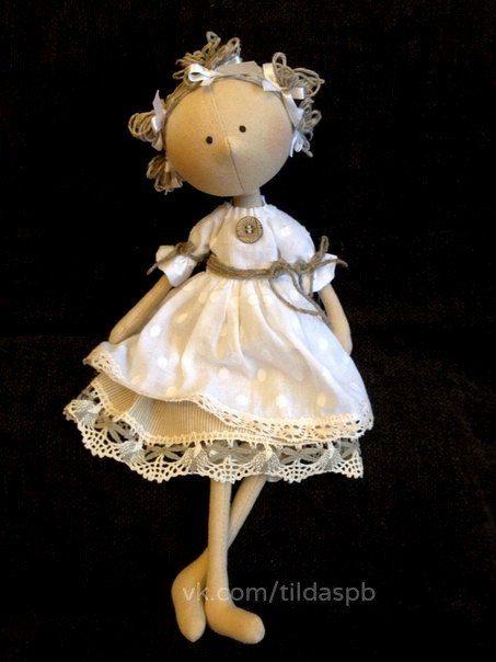 Кукла Тильда (СПб)/ Купить игрушку ручной работы