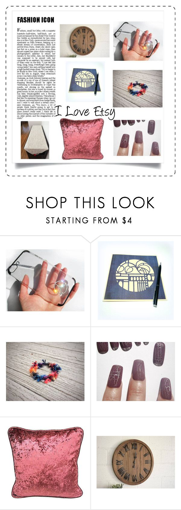 """""""Etsy gifts"""" by torijaink ❤ liked on Polyvore featuring interior, interiors, interior design, home, home decor, interior decorating, love, friends, etsy and fresh"""