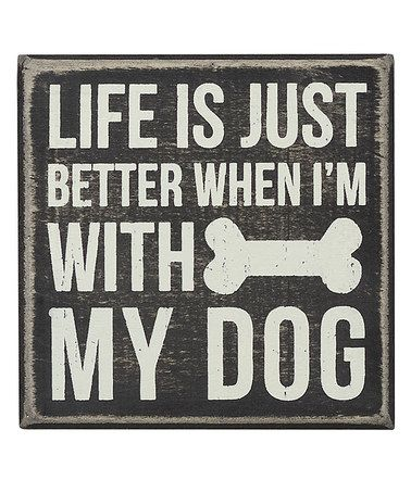 Life IS better with a dog. ♡... Re-pinned by StoneArtUSA.com ~ affordable custom pet memorials for everyone