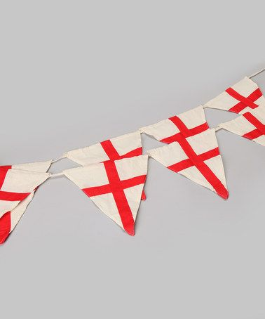 Take a look at this Powell Craft St. Georges Cross Bunting by Powell Craft on #zulily today!