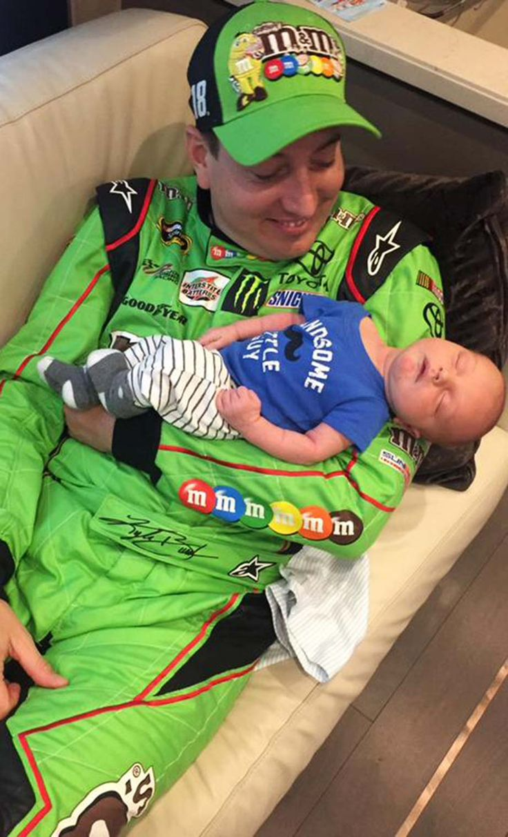 Kyle Busch celebrates his first Father's Day this year with newborn son Brexton  -  NASCAR celebrates Father's Day | NASCAR.com