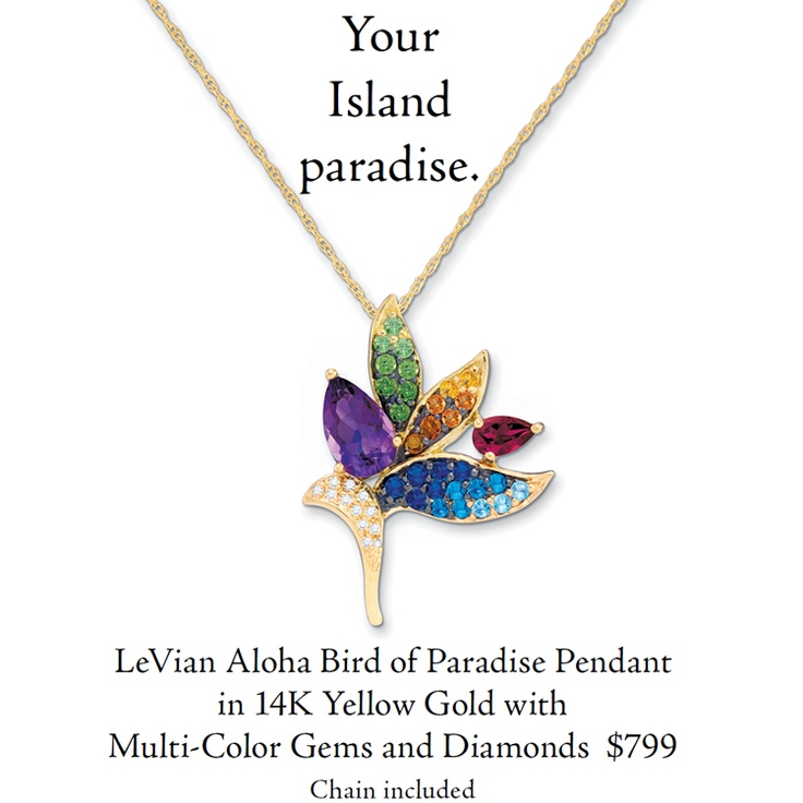 85 best a hummingbird of paradise life images on pinterest bird of bird of paradise flower pendant with multi color gems and diamonds www aloadofball Image collections
