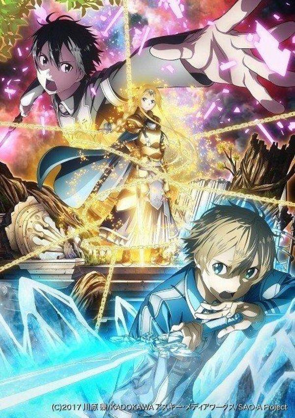 Alicization Sao Anime Manga Sword art