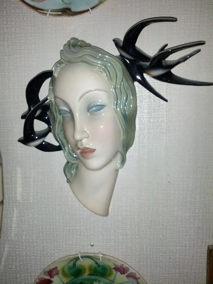 """Le Bertetti """"primavera"""" h. circa 35 cm."""