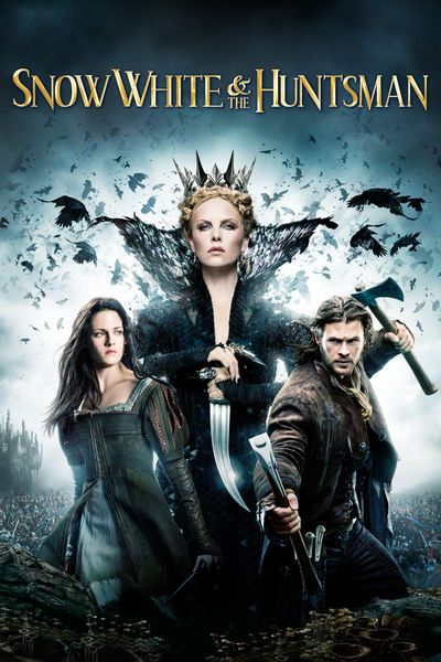Queen Ravenna (Charlize Theron), who seized control of her kingdom by marrying and killing its rightful ruler, needs the life force of young maidens to maintain her beauty. However, to become truly immortal, Ravenna must consume the heart of her stepdaughter Snow White (Kristen Stewart). Snow escapes, and Ravenna dispatches a huntsman (Chris Hemsworth) to capture her. But Snow, the Huntsman and a rebel army join forces to destroy Ravenna and restore the balance of life and death.
