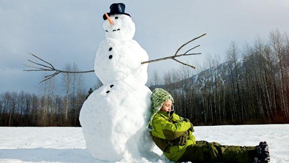 Comment faire le plus beau bonhomme de neige au monde!