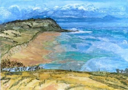 Fraser Island, SE Qld. Watercolour